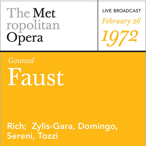 Gounod: Faust (February 26, 1972) by Charles Gounod
