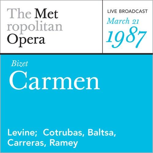 Play & Download Bizet: Carmen (March 21, 1987) by Metropolitan Opera | Napster
