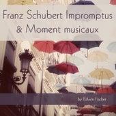Franz Schubert: Impromptus & Moment musicaux by Edwin Fischer