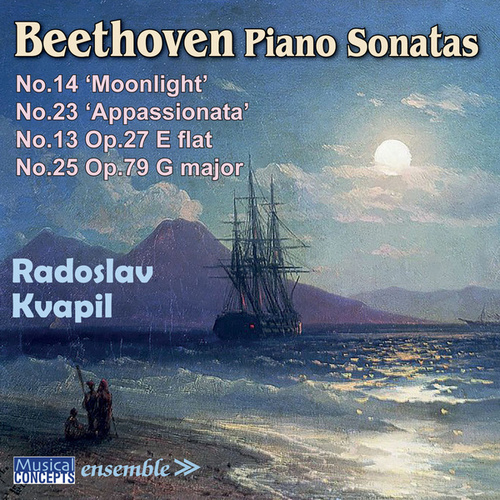 Beethoven Piano Sonatas: No. 13, No. 14 (