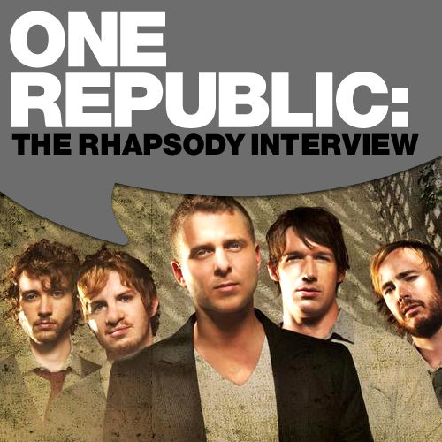 Play & Download One Republic: The Rhapsody Interview by OneRepublic | Napster