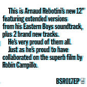 Play & Download Eastern Boys Extended by Arnaud Rebotini | Napster