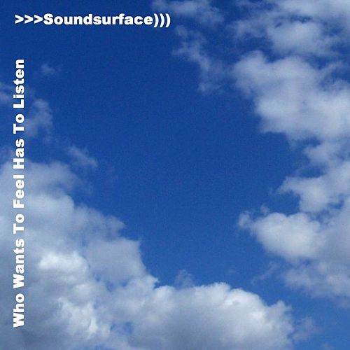 Who Wants To Feel Has To Listen by Soundsurface