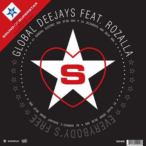 Everybody´s Free - Taken From Superstar Recordings by Global Deejays