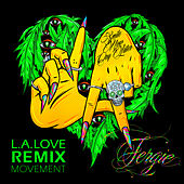 Play & Download L.A.LOVE (la la) by Fergie | Napster