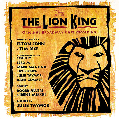 The Lion King [Original Broadway Cast] by Various Artists