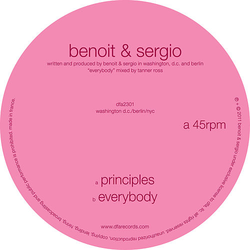 Play & Download Principles / Everybody by Benoit & Sergio | Napster