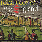 This England: Music From the Time of Shakespeare by Folger Consort