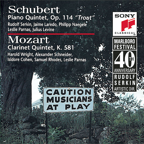 Schubert: Trout Quintet & Mozart: Clarinet Quintet by Various Artists
