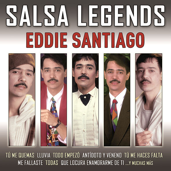 Salsa legends by eddie santiago for Jardin prohibido salsa