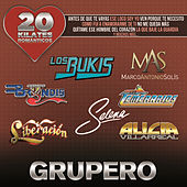 20 Kilates Románticos Grupero by Various Artists