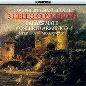 Play & Download Bach, C.P.E.: Cello Concertos by Balazs Mate | Napster
