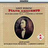 Play & Download Liszt: Piano Concerto No. 3 / 3 Schubert Marches / Buch Der Lieder, Vol. 2 by Jeno Jando | Napster