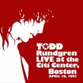 Citi Center, Boston – 4-18-91 by Todd Rundgren