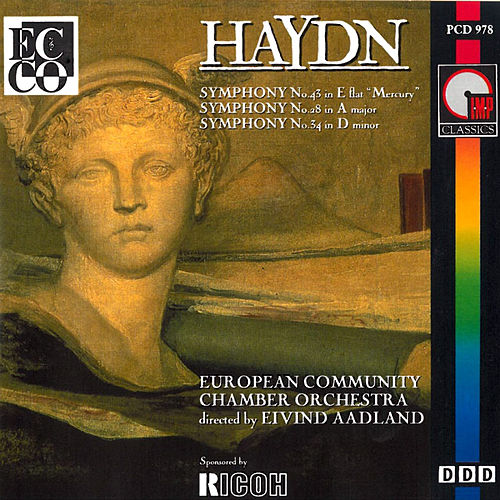 Play & Download Haydn: Symphonies Nos. 43, 28 & 34 by Eivind Aadland | Napster
