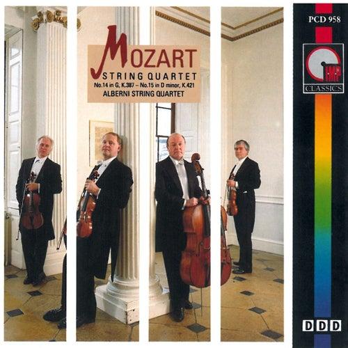 Mozart: String Quartet Nos. 14 & 15 by The Alberni String Quartet