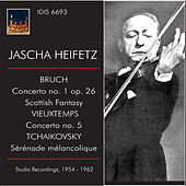 Play & Download Jascha Heifetz Plays Bruch, Vieuxtemps & Tchaikovsky by Jascha Heifetz | Napster