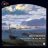 Play & Download The Romantics, Vol. 21: Beethoven Piano Sonatas, Opp. 78, 81a, 90 & 101 by Penelope Crawford | Napster