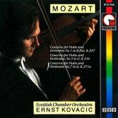 Mozart: Violin Concerto Nos. 1, 3 & 7 by Ernst Kovacic