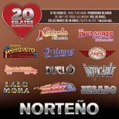 20 Kilates Románticos Norteño by Various Artists