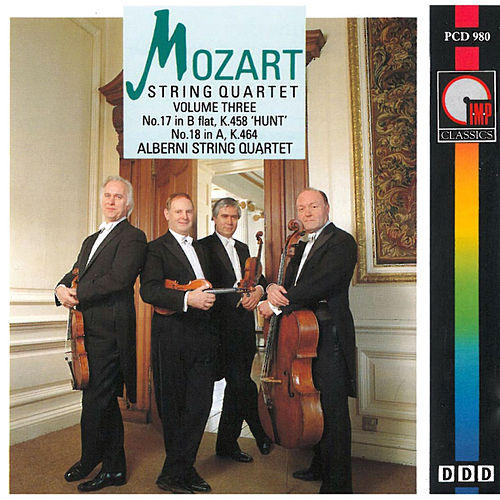 Play & Download Mozart: String Quartets Vol. 3 by The Alberni String Quartet | Napster