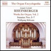 Organ Works Vol. 2 by Joseph Gabriel Rheinberger