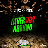 Play & Download Never Stay Around - Single by VYBZ Kartel | Napster