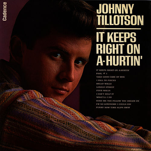 Play & Download It Keeps Right On A-Hurtin' by Johnny Tillotson | Napster