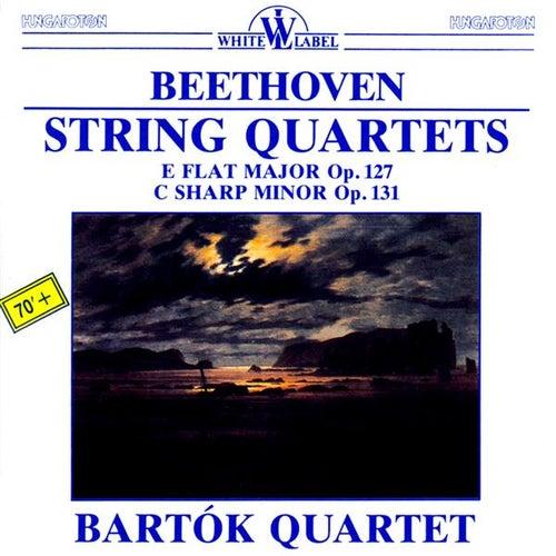 Play & Download String Quartets: E Flat Major Op. 127 - C Sharp Minor Op. 131 by Bartok Quartet | Napster
