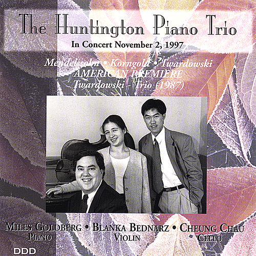Play & Download Mendelssohn, Korngold, Twardowski by The Huntington Piano Trio | Napster