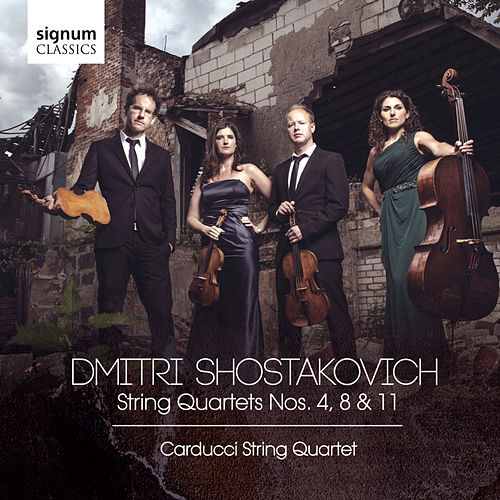 Dmitri Shostakovich: String Quartets Nos. 4, 8 & 11 by Carducci String Quartet