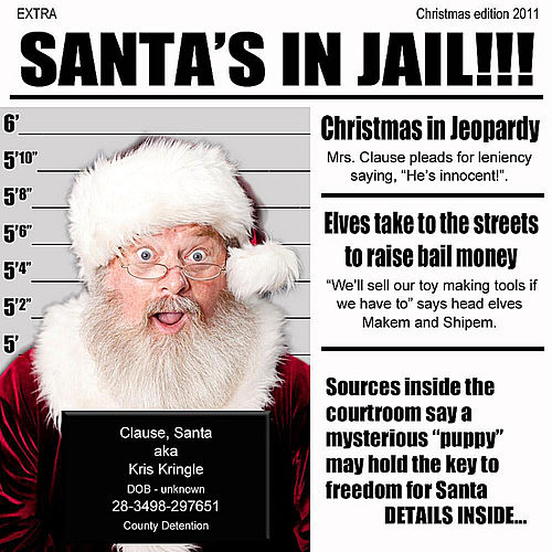Santa's in Jail by The Rusty Wright Band