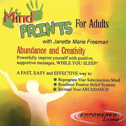 Mind Prints for Abundance by Dr. Janette Marie Freeman