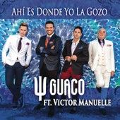 Play & Download Ahí Es Donde Yo La Gozo (Radio Edit) by GUACO | Napster