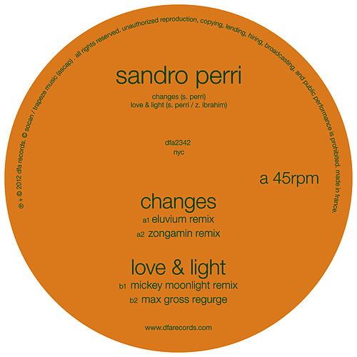 Play & Download Changes / Love & Light Remixes by Sandro Perri | Napster