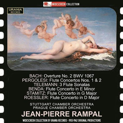Baroque & Classical Works for Flute by Jean-Pierre Rampal