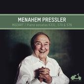 Mozart: Piano Sonatas No. 11, 17 & 18 by Menahem Pressler