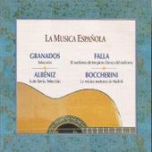 Play & Download La Musica Española - Granados - Albéniz - Falla - Boccherini by Orquesta de Pulso y Púa de la Universidad Complutense de Madrid | Napster
