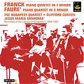 Franck: Piano Quintet in F Minor & Fauré: Piano Quintet in C Minor by Various Artists