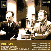 Brahms: Piano Quartets Op. 25 & 26 - Piano Quintett Op. 34 - Violin Sonata Op. 100 by Various Artists