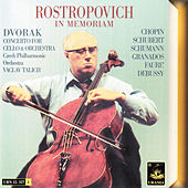 Dvořák|: Concerto for Cello and Orchstra by Mstislav Rostropovich