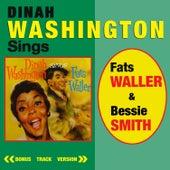 Dinah Washington Sings Fats Waller & Bessie Smith (Bonus Track Version) by Dinah Washington