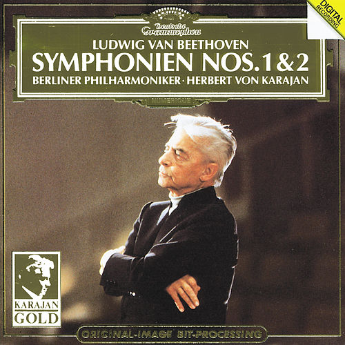 Play & Download Beethoven: Symphonies Nos.1 & 2 by Berliner Philharmoniker | Napster
