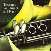 Play & Download Treasures for Clarinet & Piano by Charles West | Napster