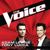 Play & Download Yesterday by Adam Levine | Napster
