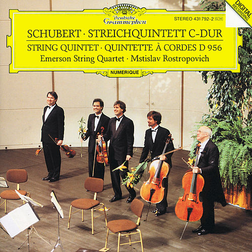 Schubert: String Quintet In C Major D.956, Op. Posth. 163 by Emerson String Quartet