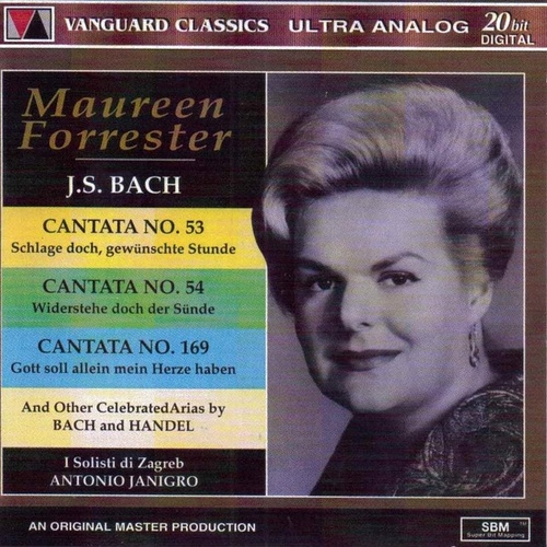 Maureen Forrester Sings Bach and Handel by Maureen Forrester