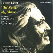 Play & Download Franz Liszt: The Power Of Music by Philip Langridge | Napster