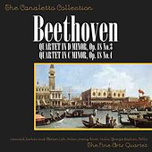 Ludwig Van Beethoven: Quartet In Major, Op. 18, No. 3/Quartet In C Minor, Op. 18, No. 4 by Fine Arts Quartet