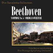 Beethoven: Symphony No. 5 In C Minor, Op. 67/Cariolan Overture, Op. 62 by Fritz Reiner Conducting The Chicago Symphony Orchestra